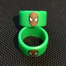 Silikon Vape Band Spiderman - TriColor -12mm Höhe -...
