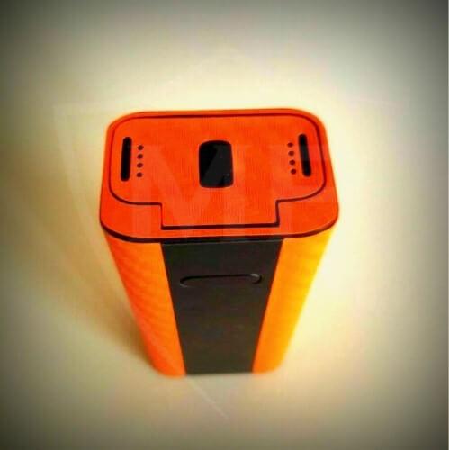 Komplett-Skin für Joyetech Cuboid TC - orange carbon 3D